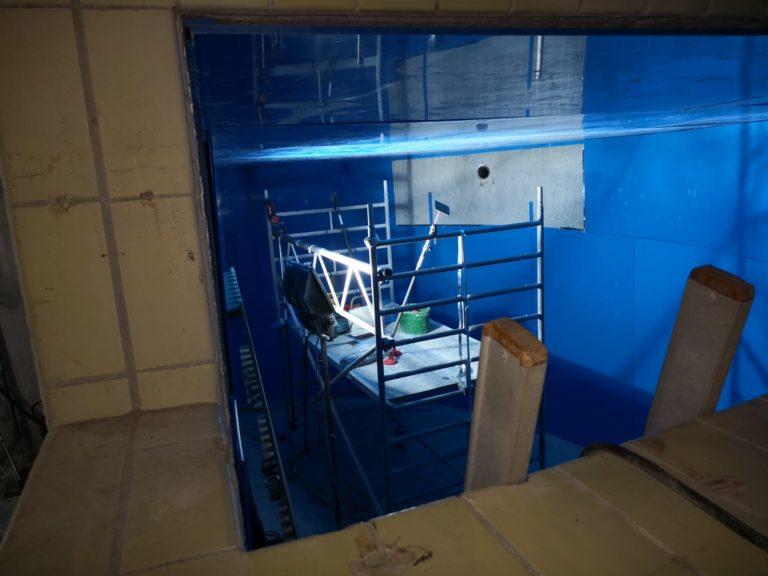 Derra Bau technology Behältersanierung Trinkwasserbehälter